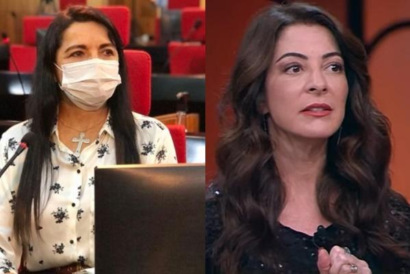 Deputada Teresa Britto e Jornalista Ana Paula Padrão - Foto: Divulgação