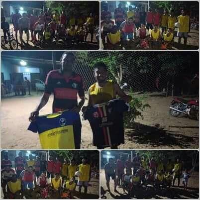 Bárbaros F.C e Escolinha de Futebol Deportivo Supiense Fecham Parceria