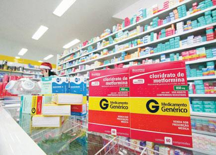 Farmácias deverão mostrar lista com remédios gratuitos em Teresina