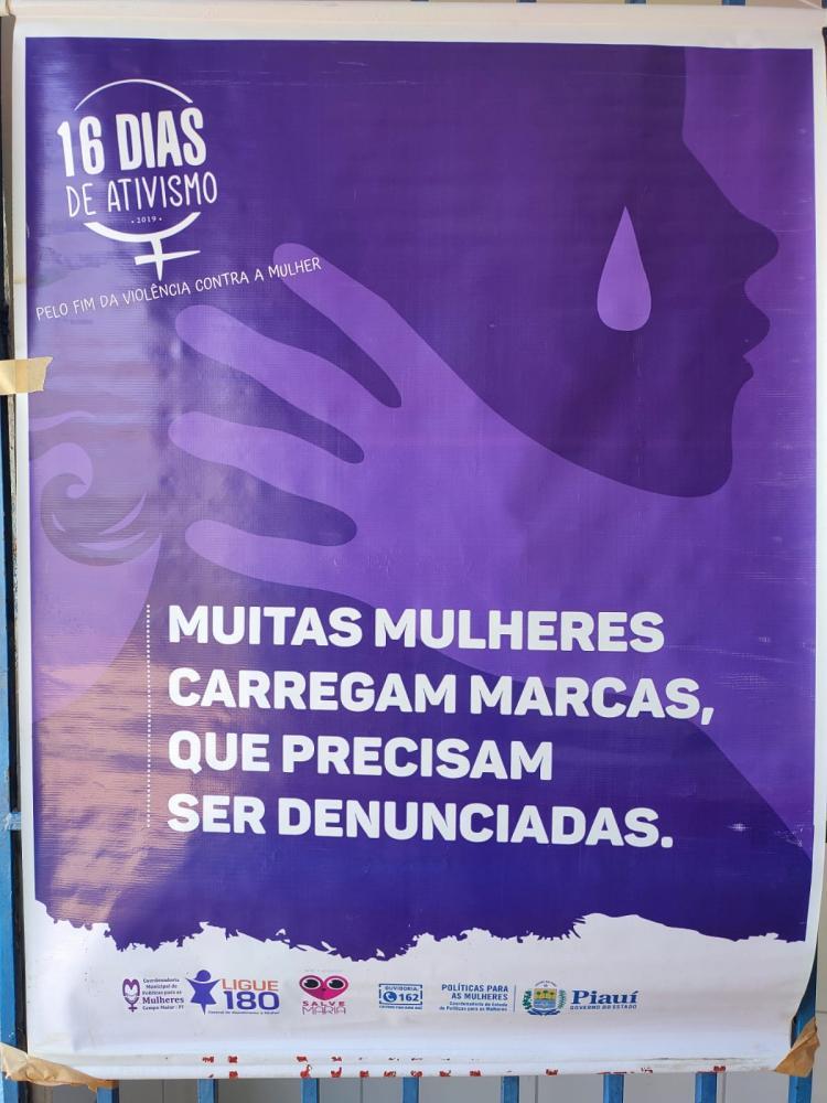 Defensoria participa de ação da campanha ônibus lilás em S. Mendes