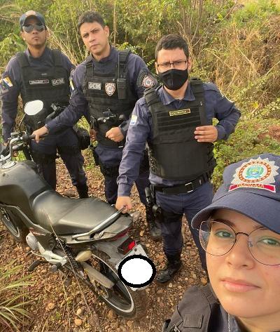 Mais uma moto roubada é recuperada pela GCM/Timon