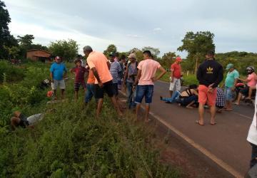Colisão entre motocicletas deixa três feridos no PI