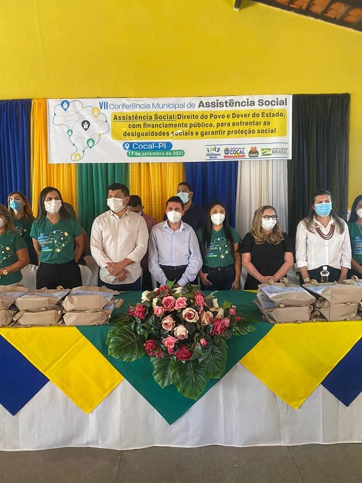 VII Conferência Municipal de Assistência Social é realizada em Cocal-PI