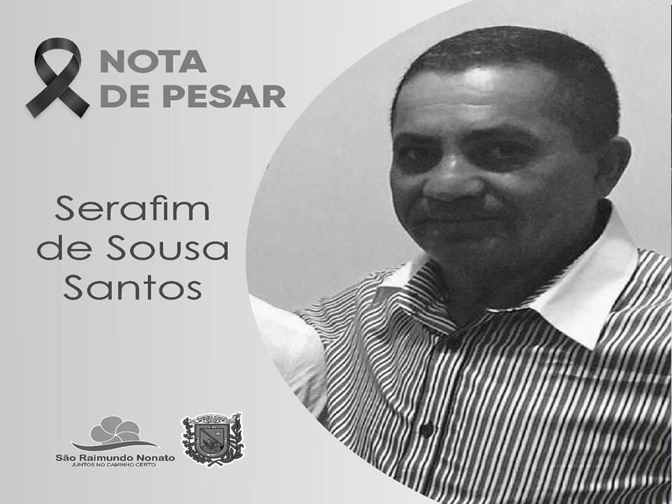 Prefeitura de São Raimundo Nonato emite nota de pesar pelo falecimento de Serafim de Sousa Santos