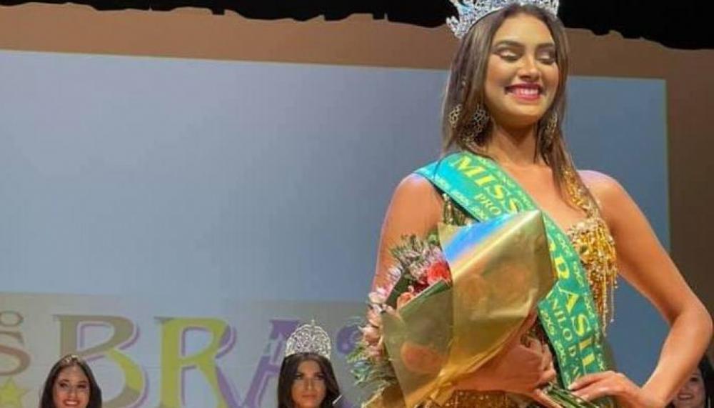 Miss Brasil Globo 2021 é a paraense Aeni Borges Silva