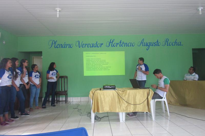 Estudantes da UAPI realizaram I seminário temático em São João do Arraial