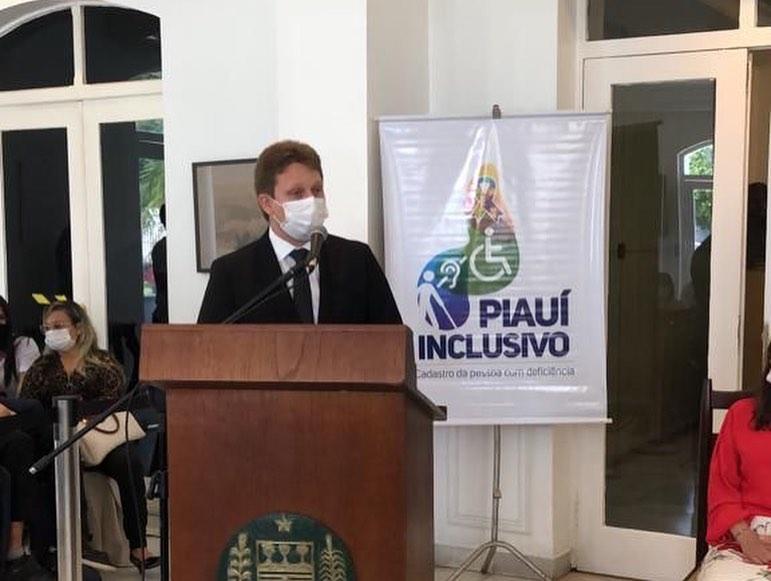 Prefeito Wilney participou do lançamento do projeto Piauí Incluso no Karnak