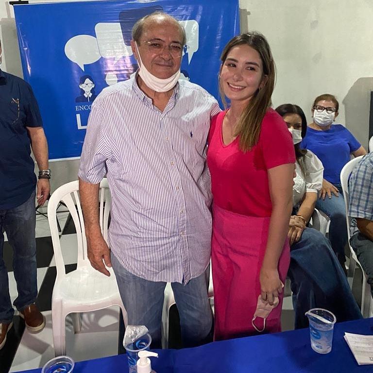 Dr. Silvio Mendes e Cristina - Reprodução redes sociais