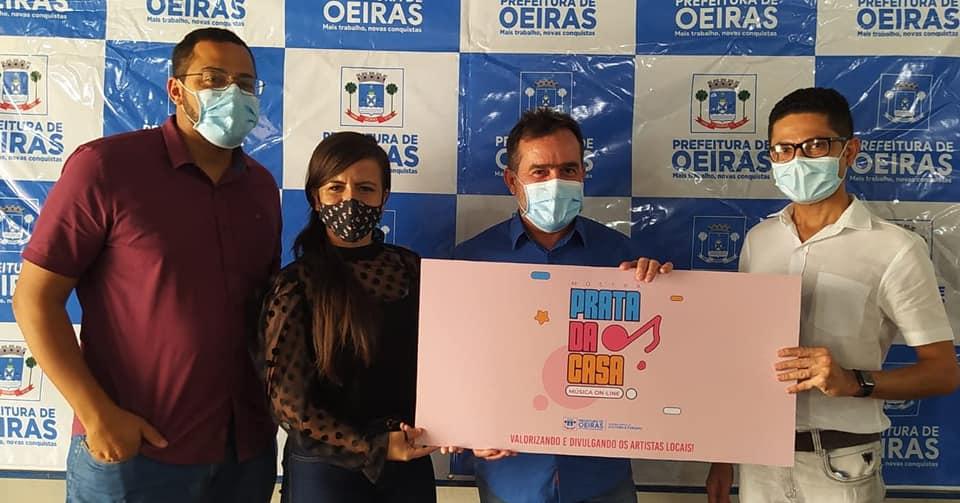 Oeiras:Prefeitura repassa incentivo cultural aos artistas da mostra Prata da Casa