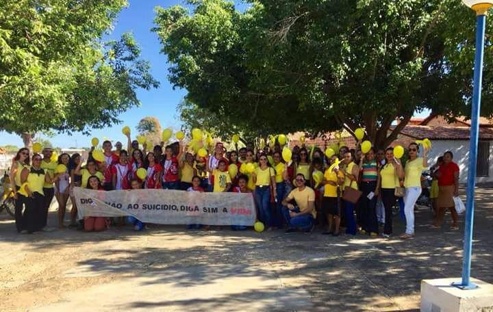 Francisco Ayres realiza 1ª Caminhada em alusão ao Setembro Amarelo