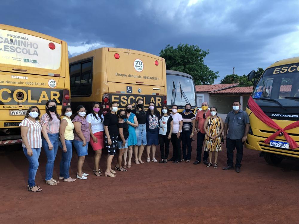 Recebimento de ônibus em DEL