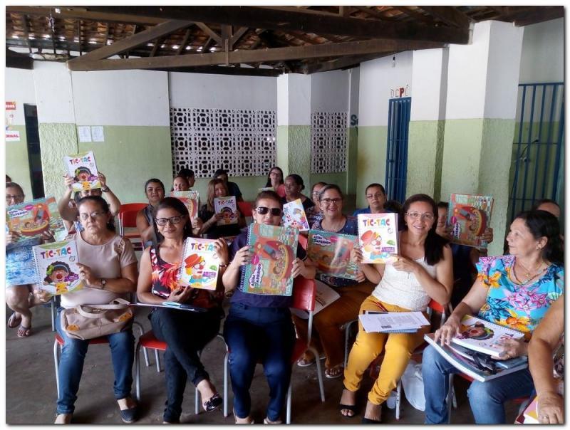 Formação com professores da educação infantil