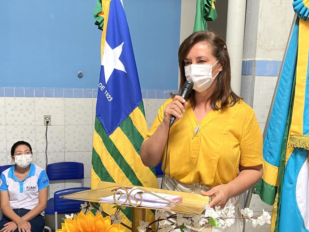 Zildênia Ribeiro - Secretária de Assistência Social e Cidadania
