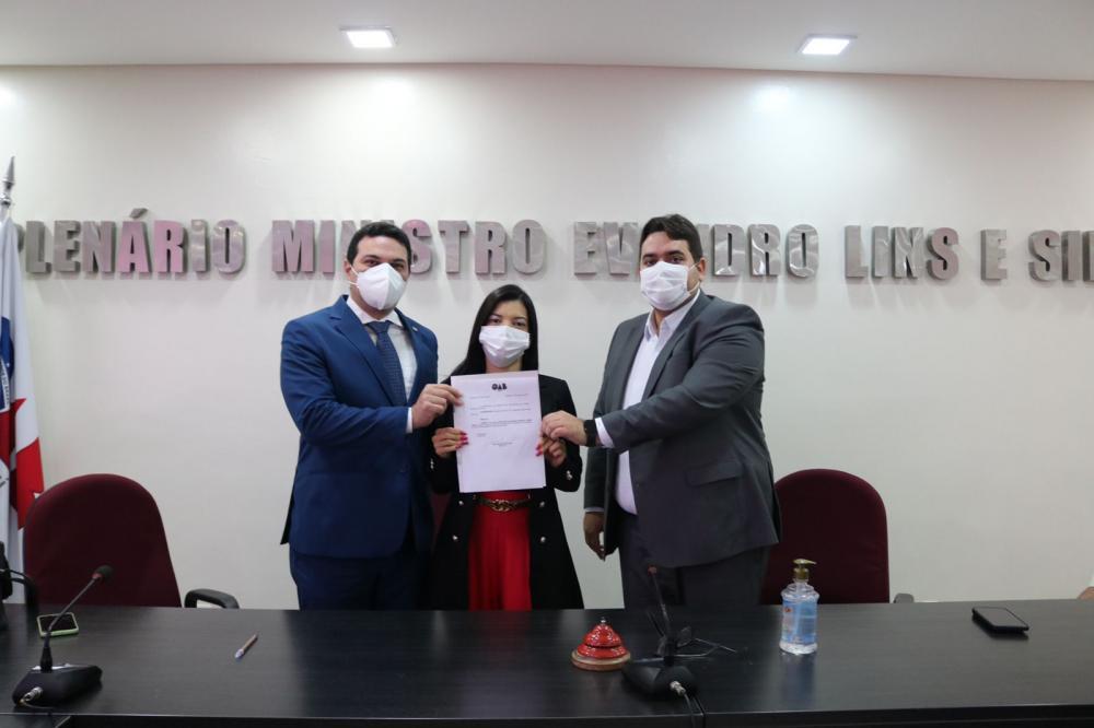OAB-PI empossa Secretária da Comissão de Defesa das Prerrogativas dos Advogados