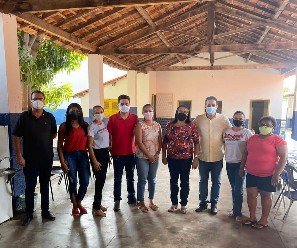 Amarante: Prefeito Diego Teixeira anuncia reforma e ampliação da Escola Peter Pan