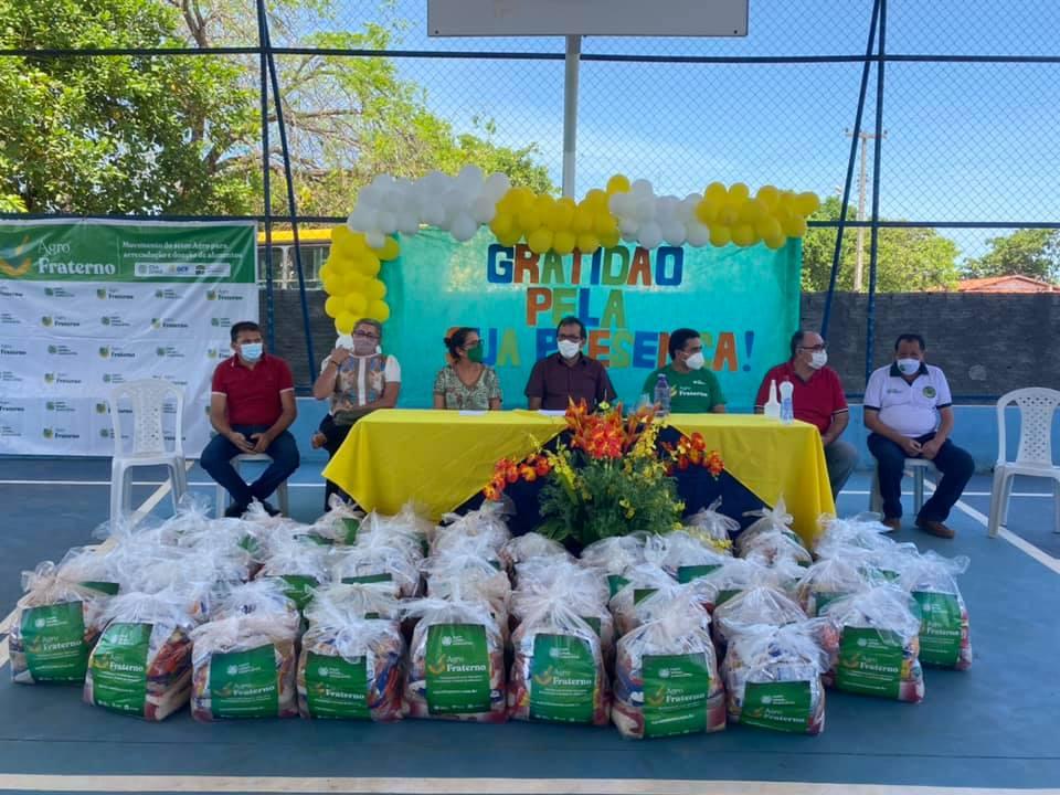 SENAR entrega 163 cestas básicas para população da zona rural de Alto Longá