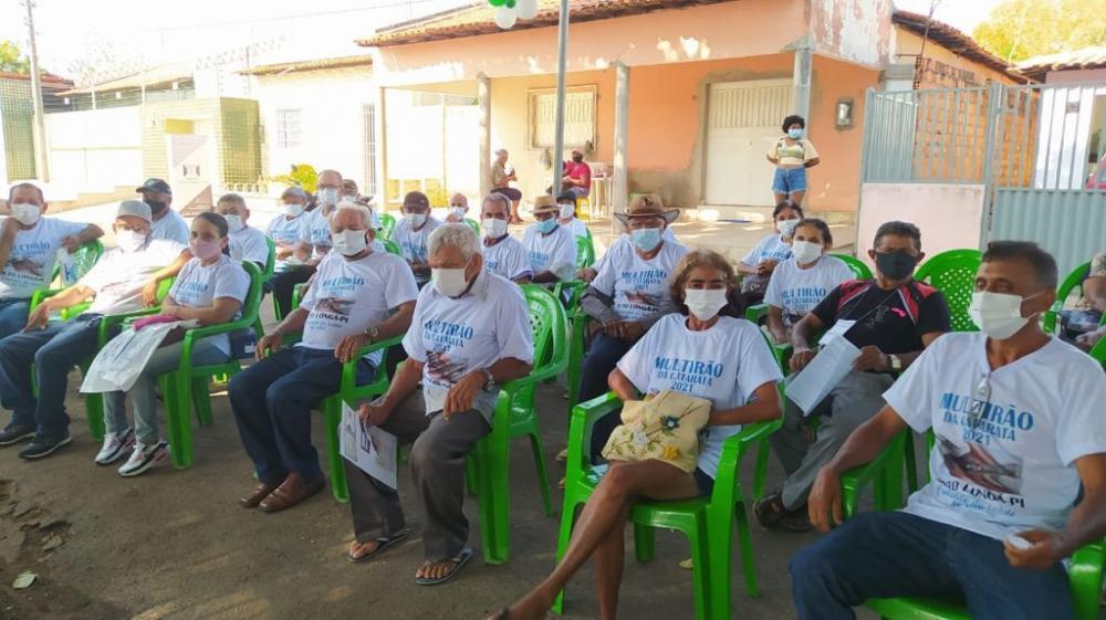 Alto Longá: 40 pacientes são beneficiados em mutirão com cirurgias de catarata