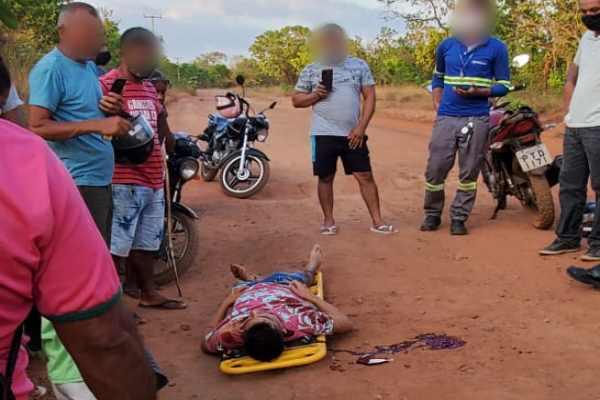 Timon: Assaltantes atiram no pescoço de funcionário do Frigotil para roubar a moto