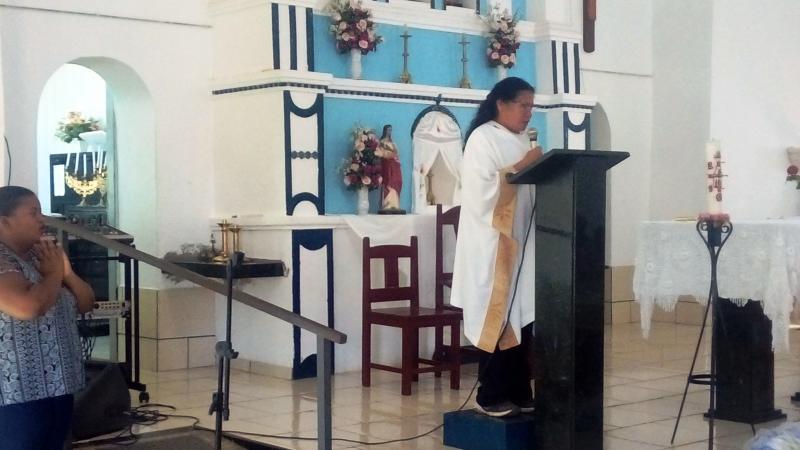Celebração de corpo presente de Nilzete Moura em Santa Filomena