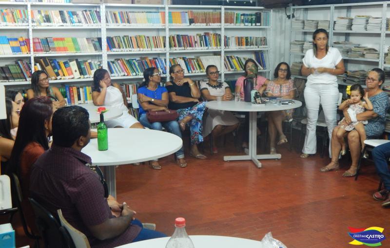 Prefeito Dr. Manoel Júnior empossa a nova Secretária Municipal de Educação de Cristino Castro