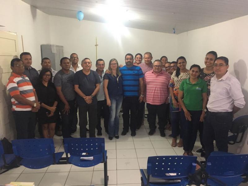 Equipe de Gestão Municipal participa de Oficina de Planejamento Estratégico