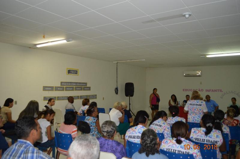 Colônia do Gurgueia realiza reunião com o presidente do Conselho Estadual da Pessoa Idosa