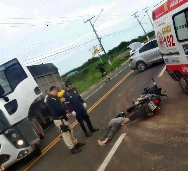 Estudante de Direito morre após sofrer grave acidente na BR-343