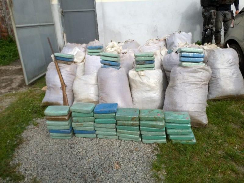 Polícia Civil faz apreensão de drogas no Maranhão
