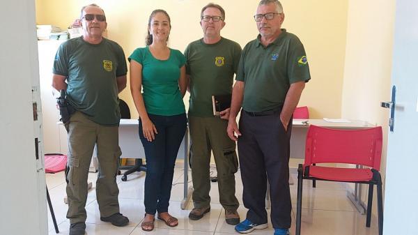 Secretaria de Meio Ambiente de Landri Sales recebe equipe do IBAMA
