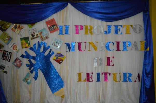 II Projeto de Leitura das Escolas Municipais foi lançado com sucesso
