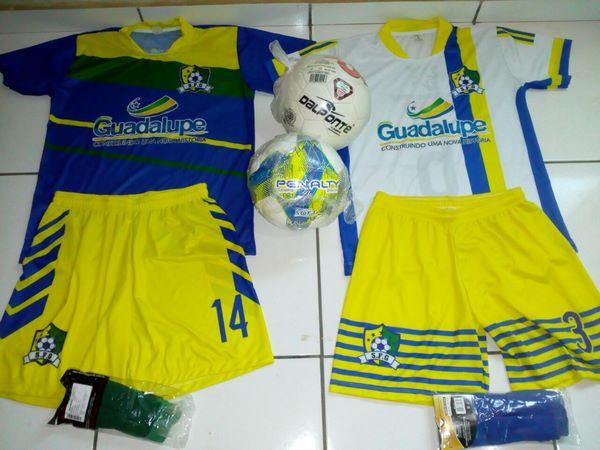 Chega o Material da Seleção de Guadalupe para I Copa Regional de Futebol do Gurgueia