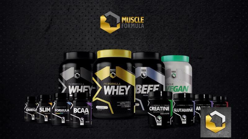 Loja com produtos Muscle Formula será aberta neste sábado em THE