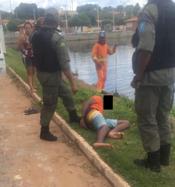 Menor agricolandense é detido pela polícia por prática de assalto em Água Branca