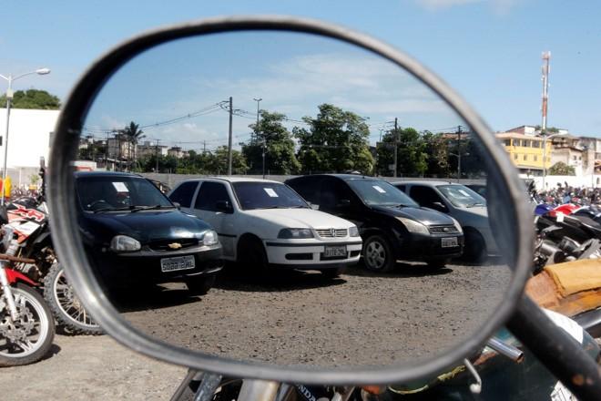 Detran abre leilão de 152 veículos nesta terça (17)