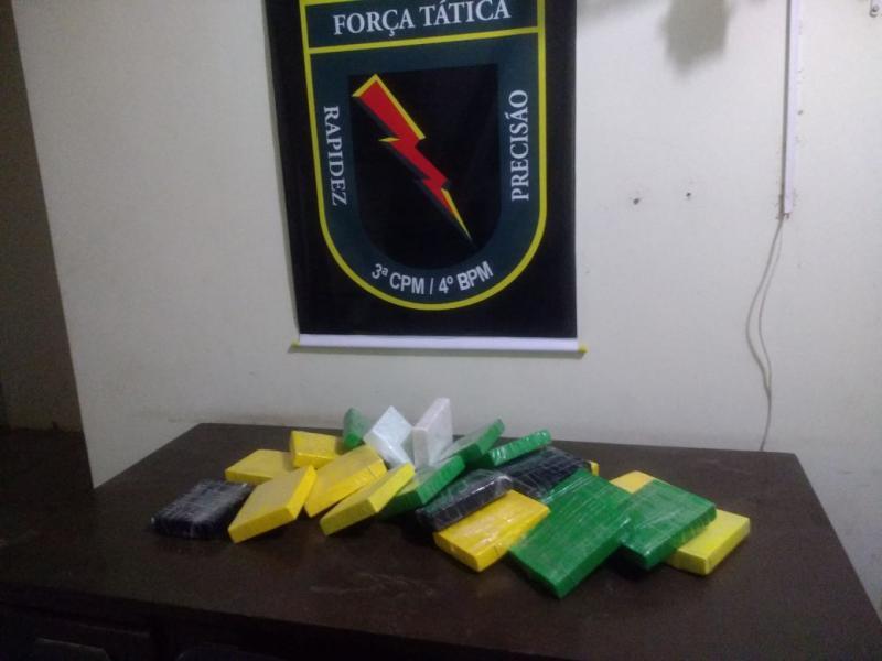 Homem é preso com 20 kg de cocaína durante operação no Piauí