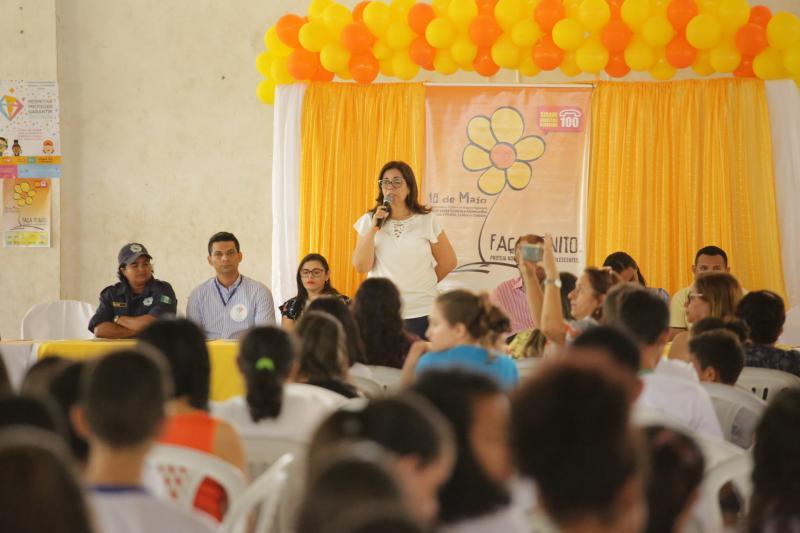 Altos realiza palestras educativas para alertar sobre a exploração de crianças e adolescentes