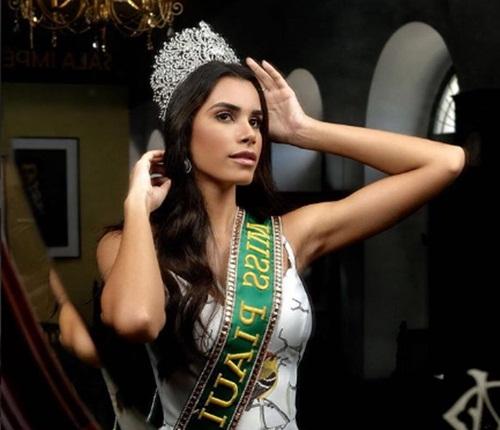 Miss Piauí Naiely Lima se prepara para o Miss Brasil 2018