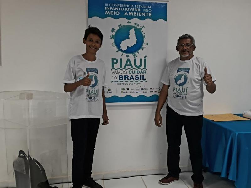 Escola Lourenço Filho está garantida na Conferencia Nacional InfantoJuvenil pelo Meio Ambiente