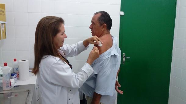 Em Agricolândia aconteceu o dia D de vacinação contra a gripe H1N1