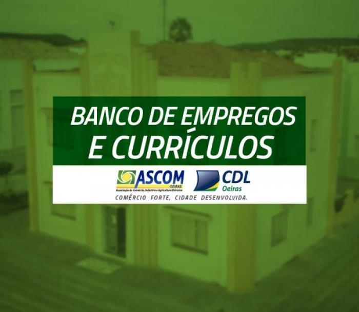 CDL/ASCOM disponibiliza ferramenta de cadastro de currículos e empregos em Oeiras