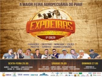 Prefeitura divulga programação completa da 6ª Expoeiras