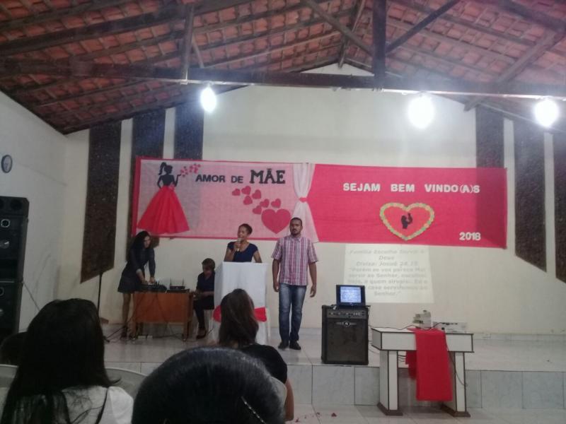 1ª Igreja Batista em São Gonçalo do Gurguéia realiza culto da família