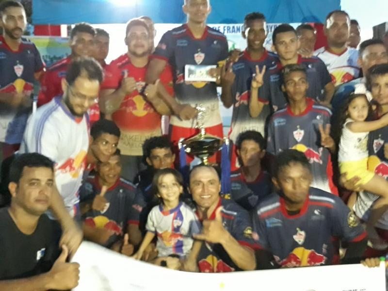 Redbull vence Buriti Grande e conquista o bicampeonato em Francisco Ayres