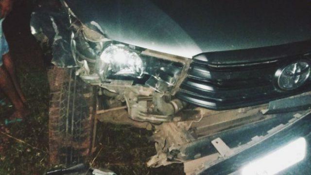 Motociclista morre ao colidir com Hilux na BR-343