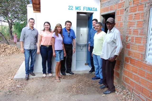 Prefeitura Realizou Entrega de Unidades Sanitárias em Furta-Lhe a Volta