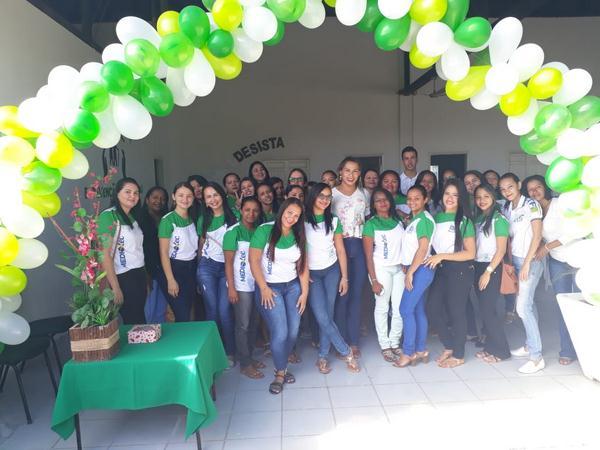 Alunos de Curso Técnico em Agentes Comunitários de Saúde desenvolvem ação no CCI de Guadalupe