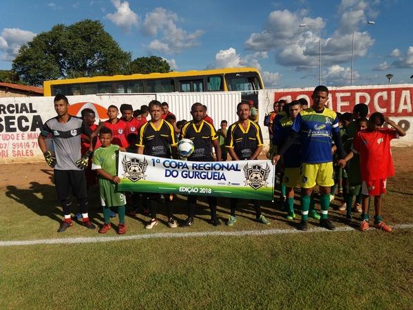 Seleção de Guadalupe empata com Landri Sales na estreia da 1ª Copa Regional de Futebol do Gurgueia