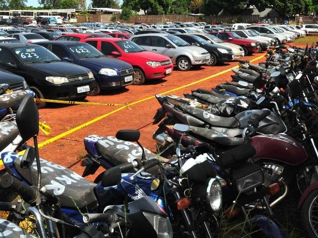 Detran-PI abre nesta segunda-feira visitação a veículos que vão a leilão