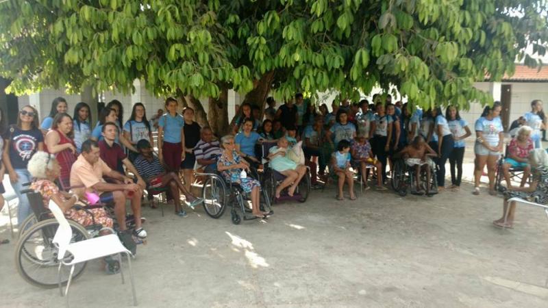 Secretaria realizou uma atividade interativa envolvendo os adolescentes do SCFV