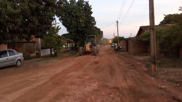 Prefeitura de Landri Sales inicia obra de pavimentação em ruas do município